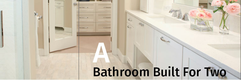 A Bathroom Built for Two